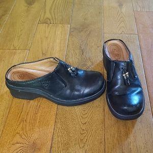 Ariat Black Leather Slip On Clog Shoes, 93891, 8B